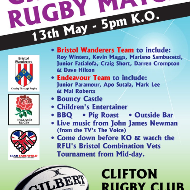 End of Season Charity Rugby