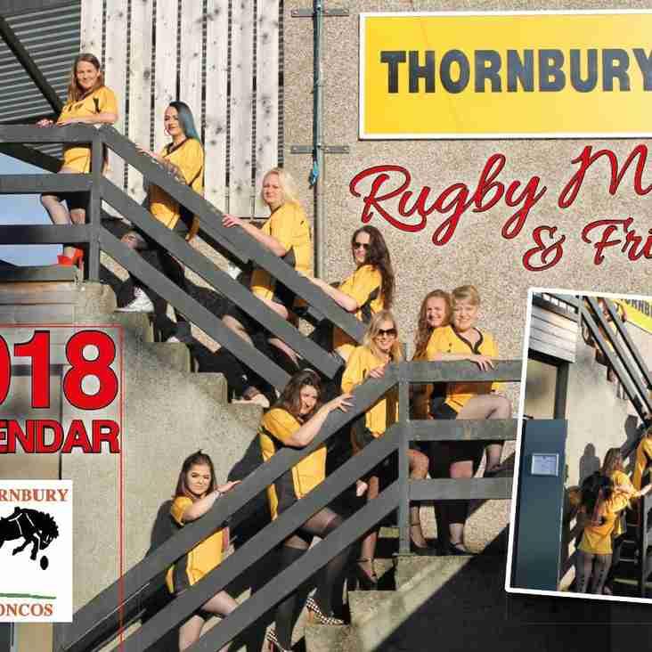 2018 Ladies Rugby Calendar for sale