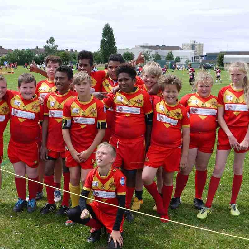 Medway Dragons U/11's Skolars Festival July 2016