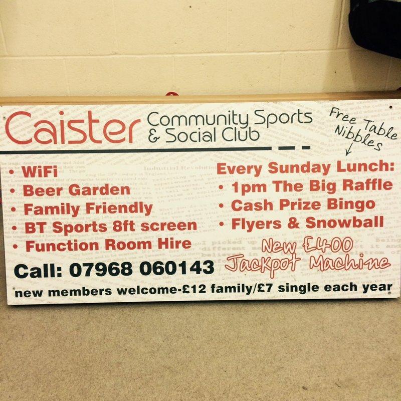 Caister FC v Cromer Town FC