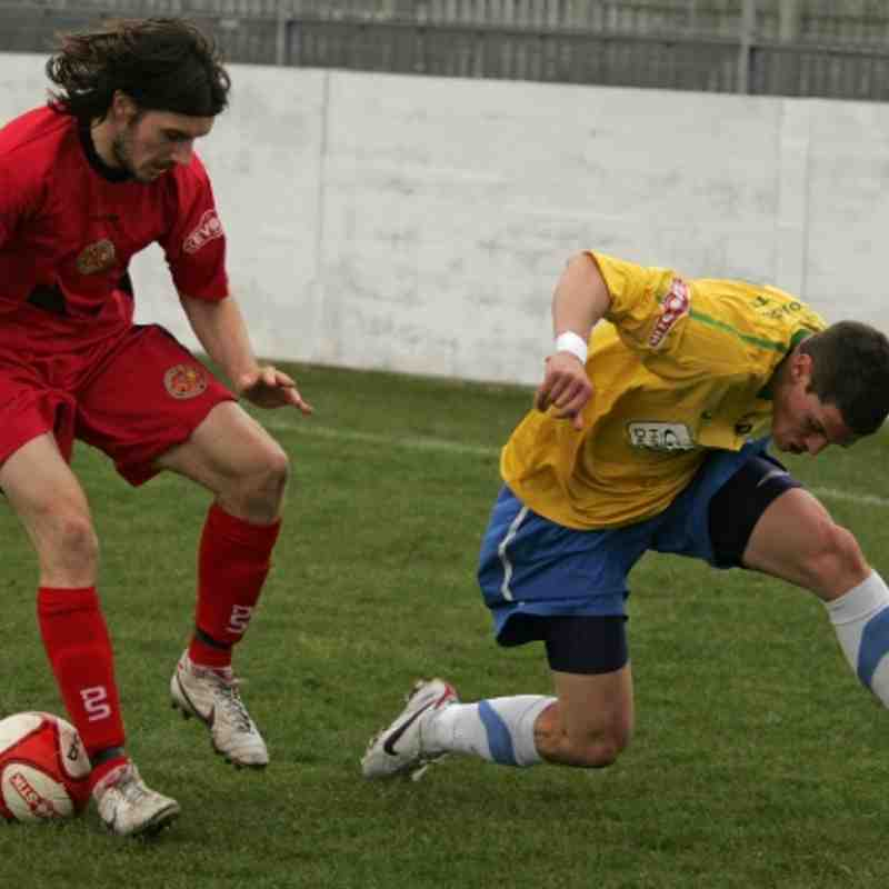 Garforth Town 2  vs  1 Skelmersdale United  April 21, 2012