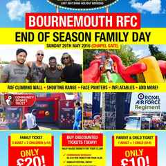 Bournemouth 7's family tickets available