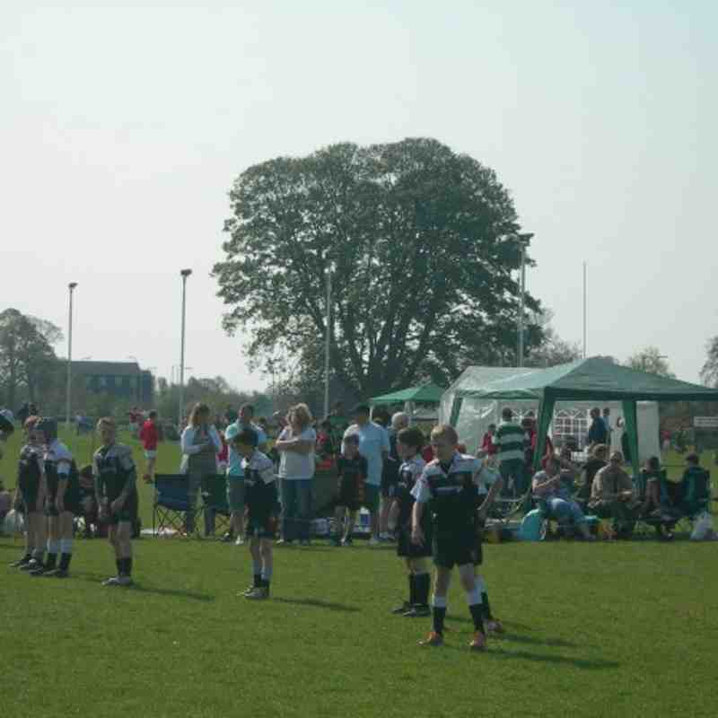 Under 10's at the Whitchurch Tournamnet 2011