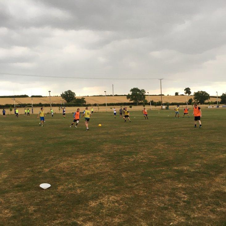 Pre season training<