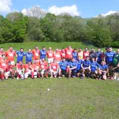 Pontyberem All Stars v Llanelli Warriors