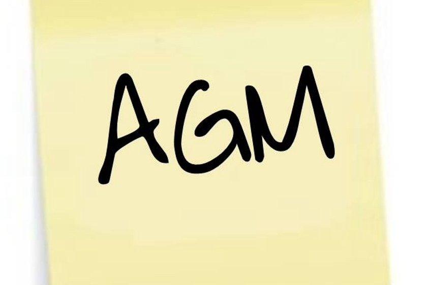REMINDER - AGM 2017