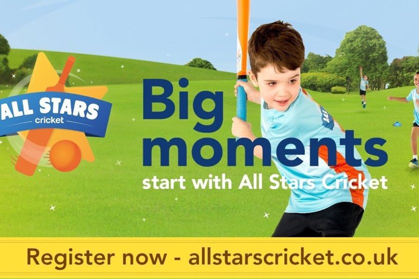 ECB 'ALL STARS CRICKET' LAUNCH TODAY!