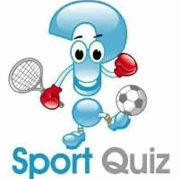 CHRISTMAS QUESTION OF SPORT
