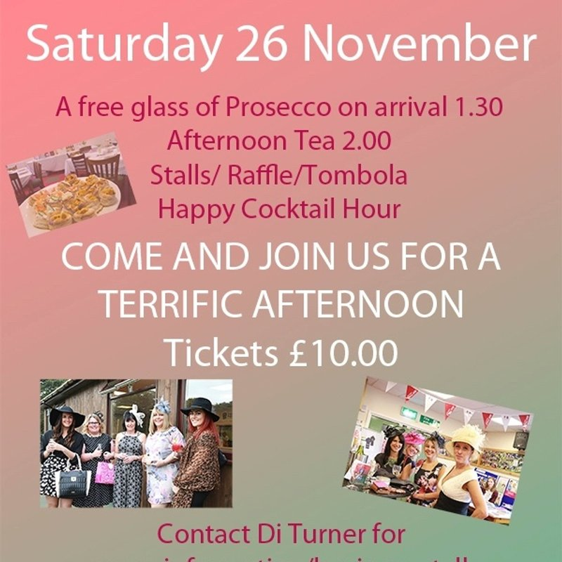LADIES DAY - SATURDAY 26 NOVEMBER