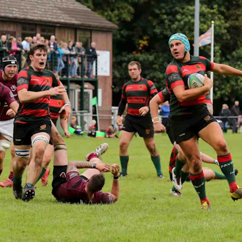 1st v Melton Mowbray - 23.9.17