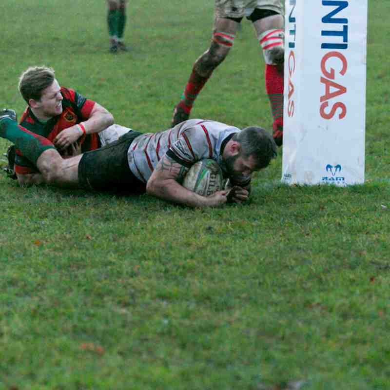 1st XV v Market Rasen - 6.1.18 - Winning is becoming a Habit: Photos by Diana Turner