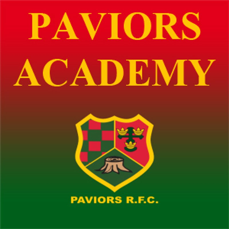 Paviors Academy - Kick Off at 14.15 on Saturday 8 December