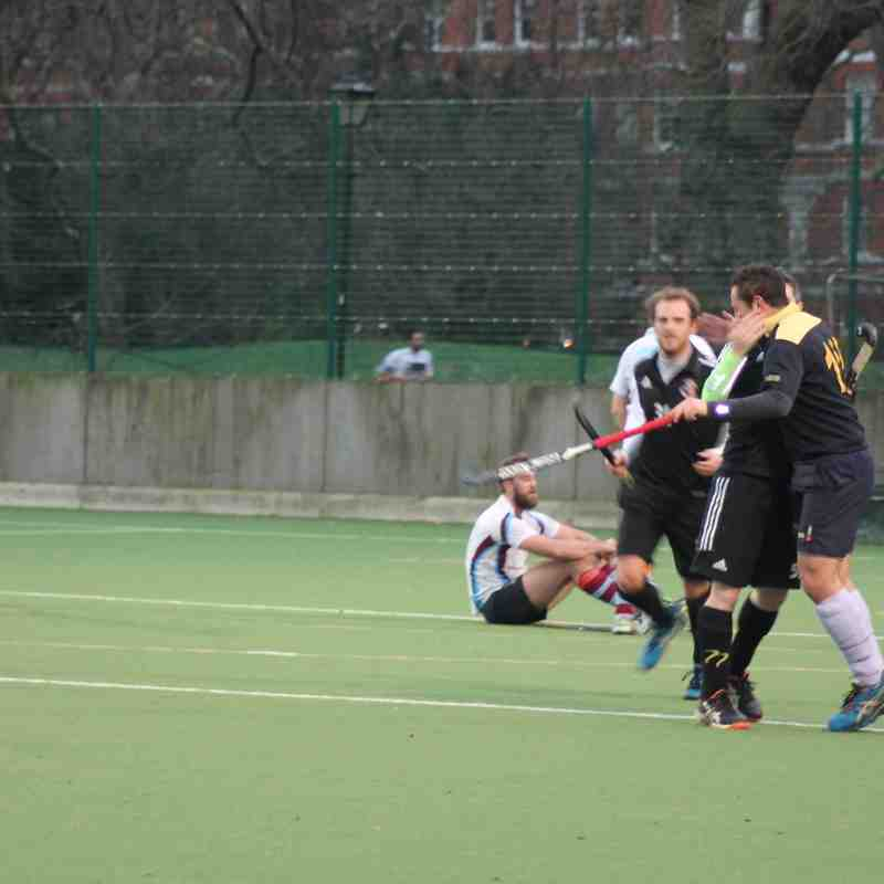 Mens 3's v Spencer