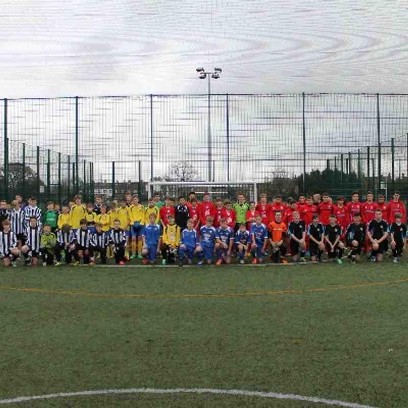 U14 Academy Futsal - Week 1 - 01/12/13