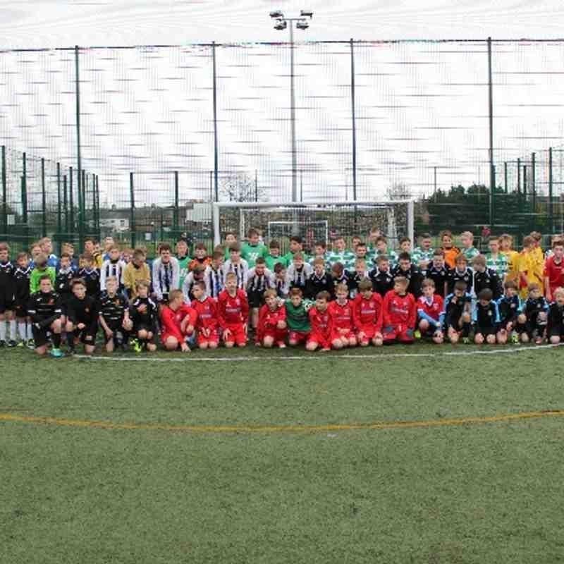 U12 Academy Futsal - Week 1 - 01/12/13