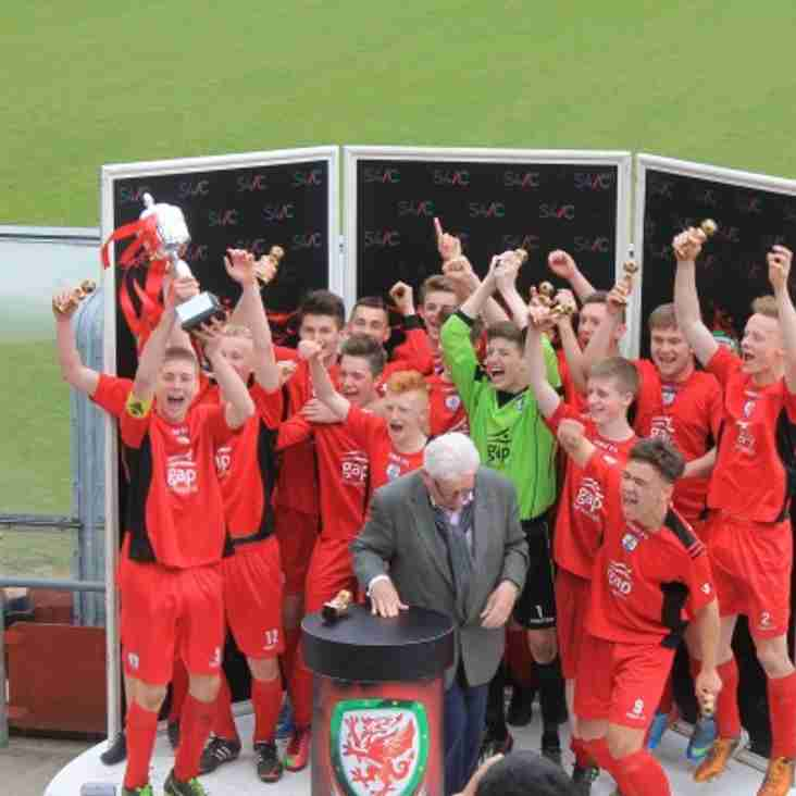 Academy Welsh Cup Final Details U12s, U14s and U16s - Monday 7th May 2018