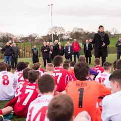Chris Coleman Officially opens The Quay 3G