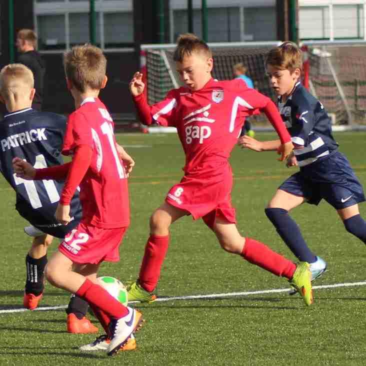 U12, U14, U16 and U18 Weekend Fixtures