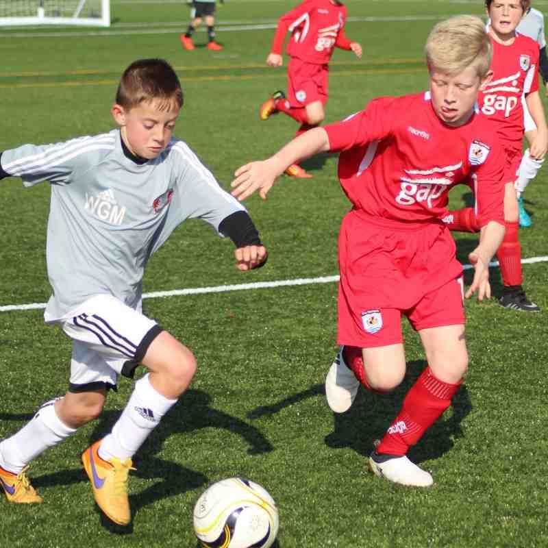 Under 8-11 vs Llandudno Town Academy - 15/10/16 - The Quay 3G