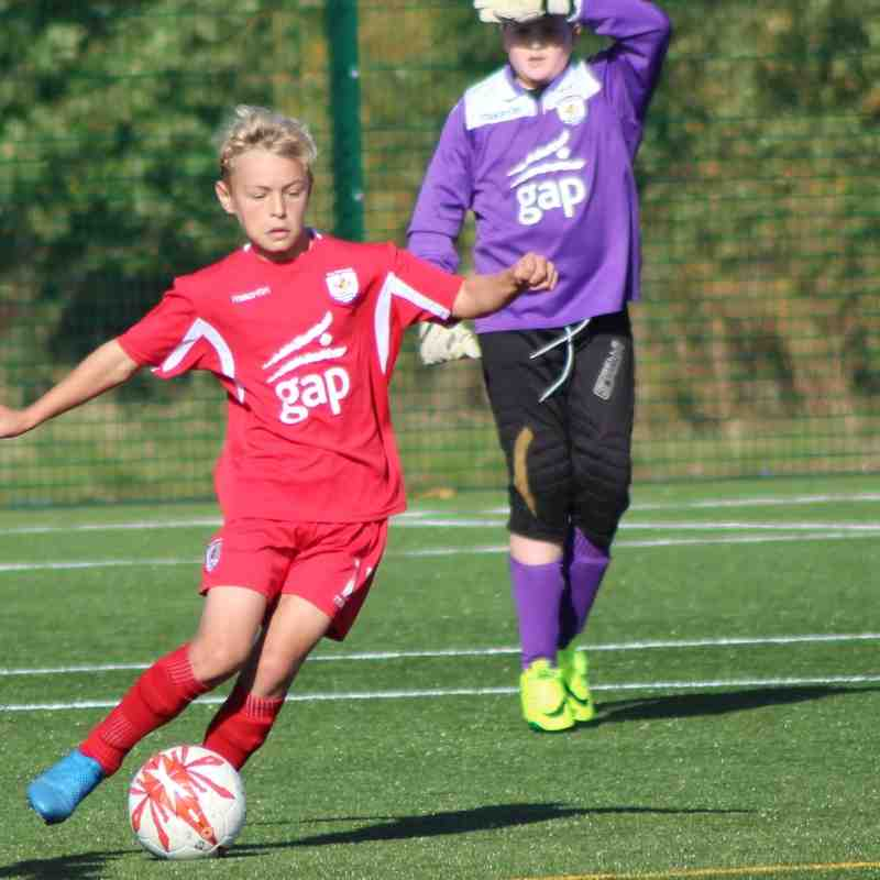 U12 and U14 vs Conwy Borough - FAW Academy Cup - The Quay 3G - 16/10/16