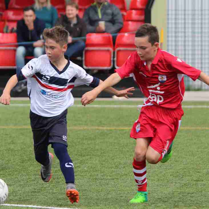Academy to face Wigan Athletic and Shrewsbury Town