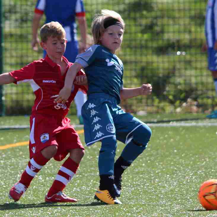 Changes in Details for Games vs Shrewsbury Town and Tranmere Rovers U8-U16