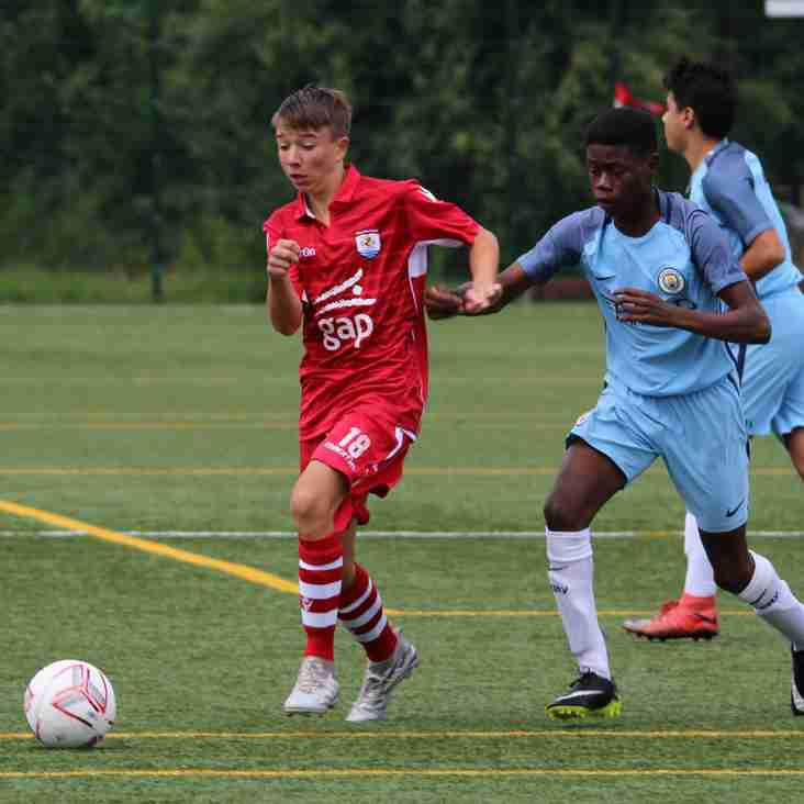 Academy Enjoy Games vs Wigan Athletic, Shrewsbury Town and Manchester City
