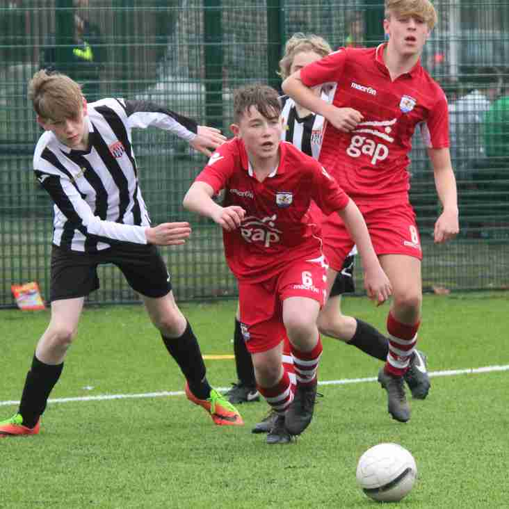3 Nomads Academy U15s selected for Cymru Cup Squads