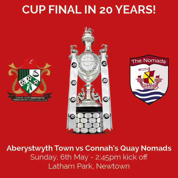Welsh Cup Bank Holiday Weekend Details for First Team, U12s, U14s and U16s National Finals!