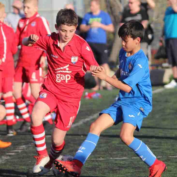 U11 Nomads Academy player Iago Scott signs for Crewe Alex