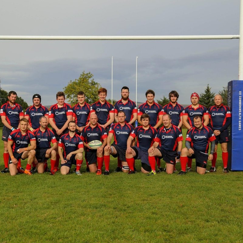 Ross Sutherland Rugby 15 - 15 RAF Lossiemouth