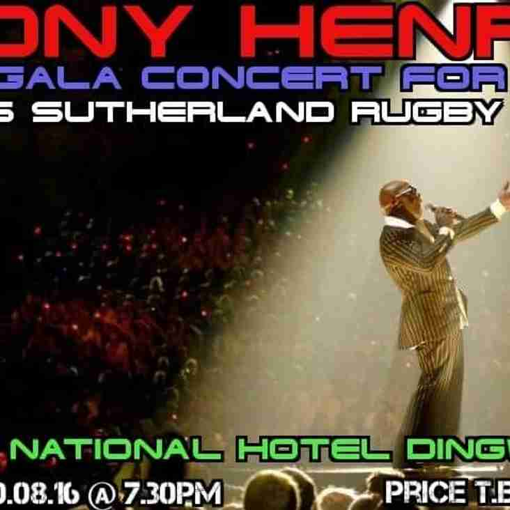 Tony Henry in Concert - tickets available now!