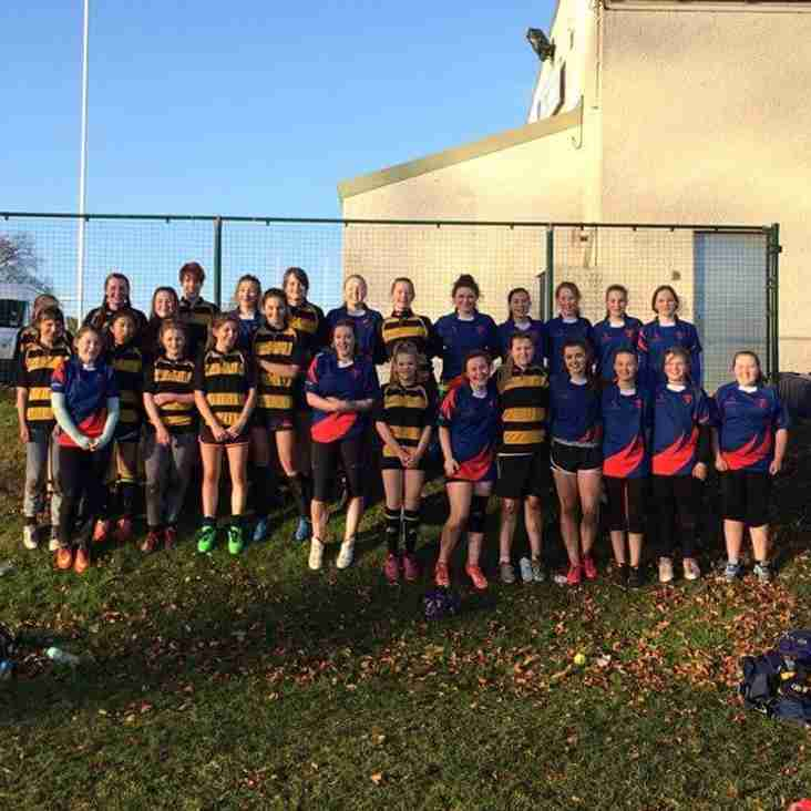 Girls Rugby off to a great start