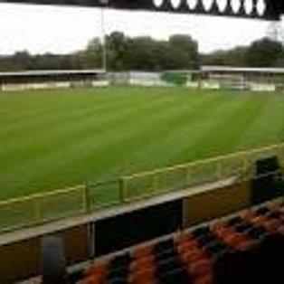 Basildon United 3 (0) - (1) 1 ROMFORD Attendance 124 - Gardener's Close