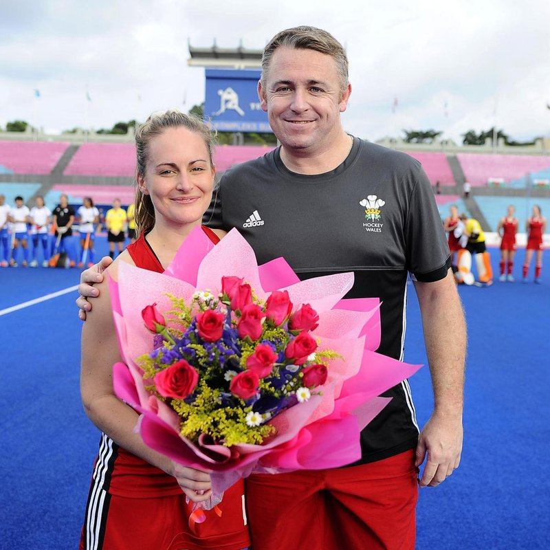 Congratulations to Carys Tucker on her 50th Cap