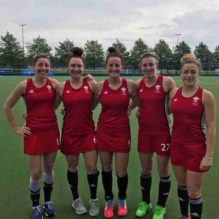 Five Spartans In Welsh Series Win