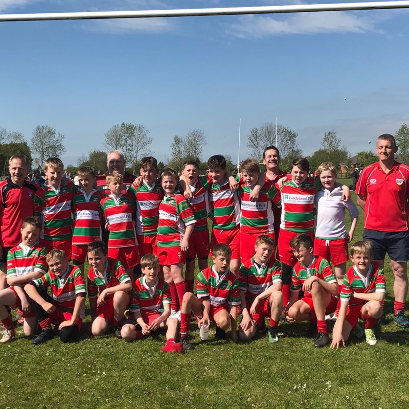Under 13s beat BLACKBURN 20 - 30