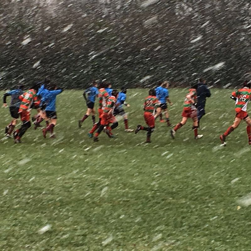 Match Abandoned in 2nd Half due to Blizzard Conditions