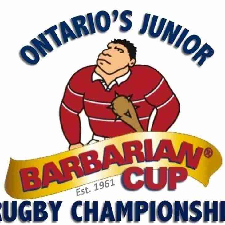 Highland Host the 58th Annual Barbarian Cup