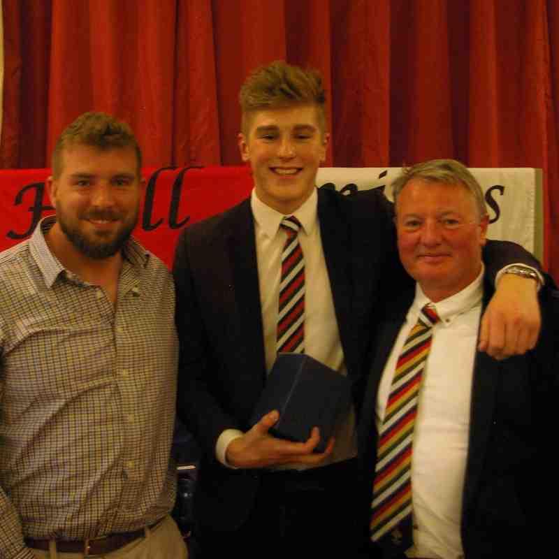 U19 Player of the Year, Felix Rozebroek