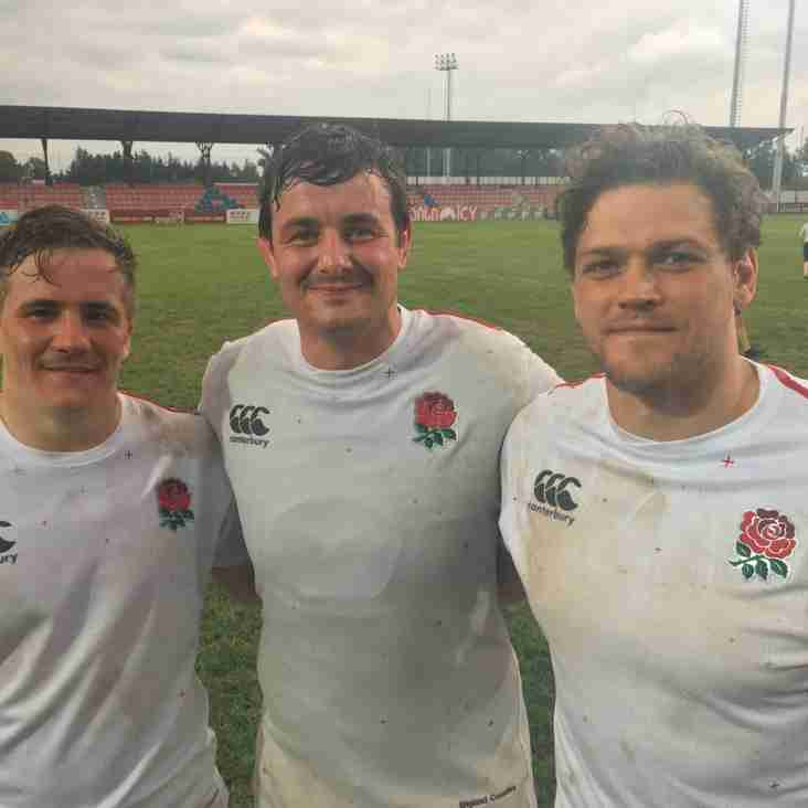 I's with England Counties - + match report link