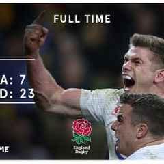 Eddie Jones calls for 3-0 whitewash after England clinch series against Australia