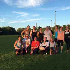LADIES HOLD FIRST TRAINING SESSION