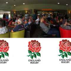 56 Gather at EGRFC to Cheer on 3-0 England Test White Wash