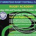 1/2 Term Rugby Academy