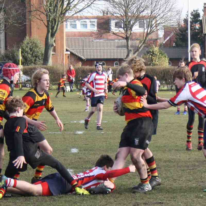 U14's v Sefton 18th Feb 2018