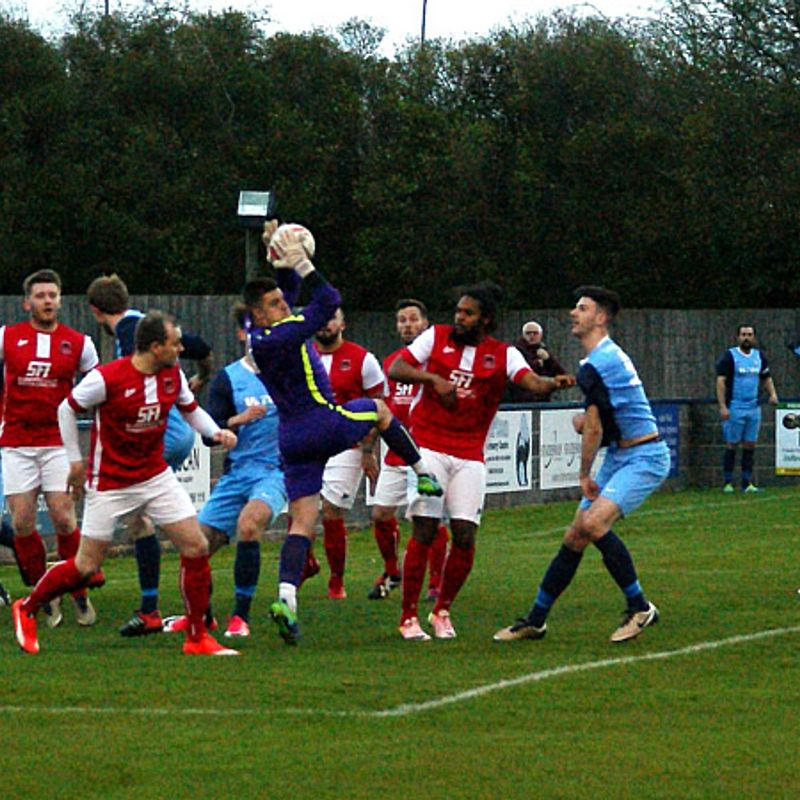 Barton Town 1 Thackley 0 - Match Report.