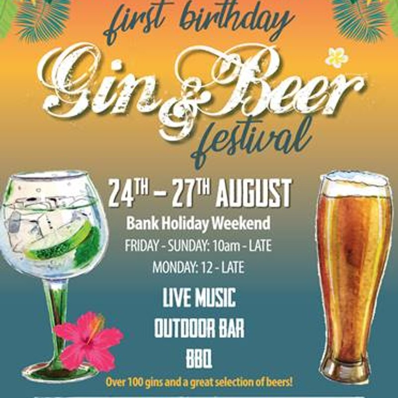 Idle beerhouse - Gin and Beer Festival.