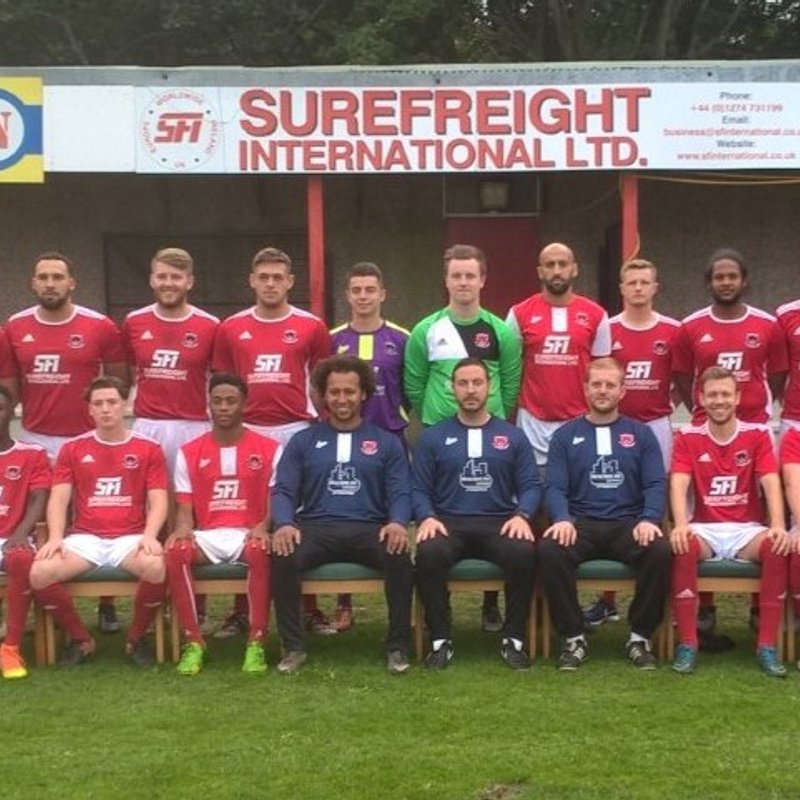 Surefreight International Limited - Thackley's Shirt Sponsor.