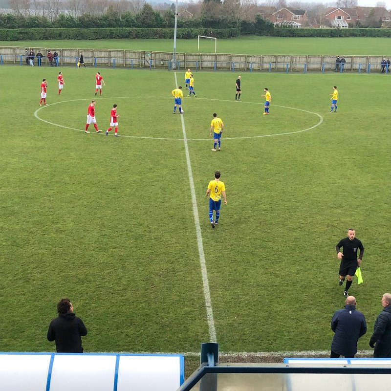 Garforth Town 1 Thackley 1 - Match Report.